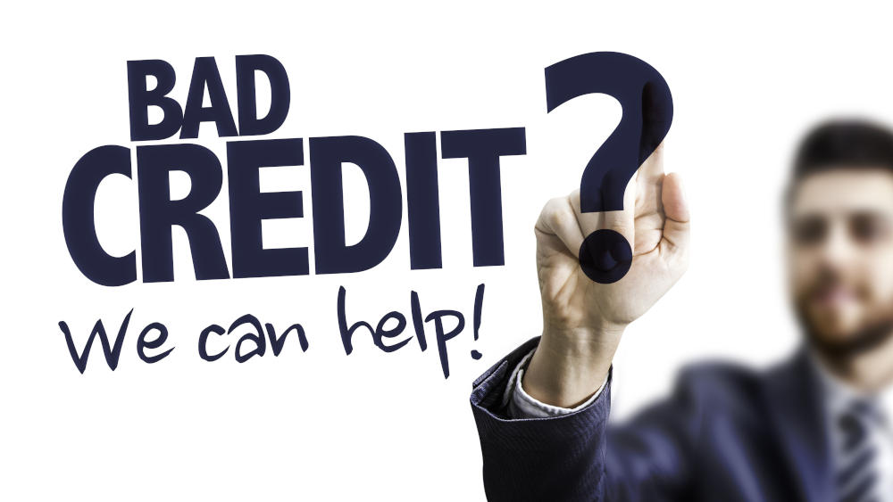we can help you to improve bad credit scores
